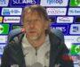Samb-Sudtirol 0-4, Vecchi: «Gara indirizzata dall'espulsione, ma noi eravamo già pericolosi»